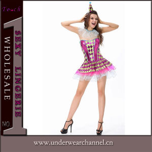Sexy Adult Sassy Party Clown Costume (5892) pictures & photos