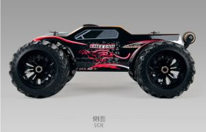 4WD 1: 10 Big Wheel RC Car with LED Light pictures & photos
