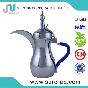 Popular Dubai Stainless Steel Hotel with Rubber Handle Dalla Jug (OSUL) pictures & photos