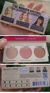 The Balm Hot Sale Make - up Mary Lou Manizer, Cindy Lou Manizer, Betty Lou Manizer Highlighter Pressed Powder pictures & photos