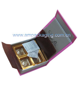 Chocolate Packaging with Gold Vacuumform Insert pictures & photos