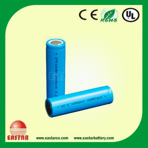 LiFePO4 Battery Ifr18650p 3.2V 1100mAh Made in China pictures & photos