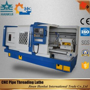 Qk1343 CNC Controller Pipe Thread Lathe Machine Price pictures & photos