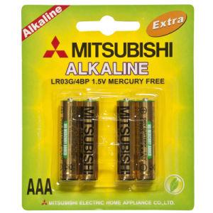 Mitsubishi Lr03 AAA Alkaline Dry Battery