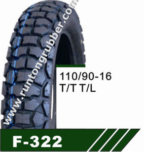 New Pattern Product From Qingdao Factory Motorcycle Tires 110/90-16 pictures & photos