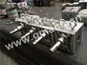 Polymer Melt Gear Pump for Melt Blown Non-Woven Fabric Extrusion Line pictures & photos