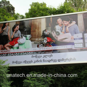 Metal Unipole Support Advertising Media Backlit Film Banner Channel Aluminium Outdoor LED Display Box pictures & photos