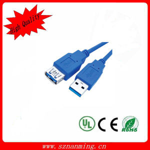 Factory Price Blue USB 3.0 to Am/Af Cable (NM-USB-1312) pictures & photos