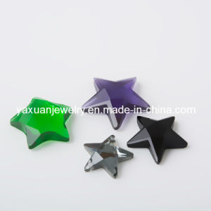 Five Star Resin Rhinestone Stone for Jewelry Accessories