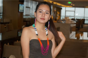 Fashion Colorful Beads Necklace with Earrings Jewelry Set pictures & photos