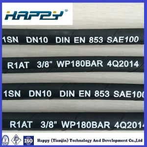 """Dn 3/8 """" Hydraulic Wire Braided Rubber Hose SAE100 R1 pictures & photos"""