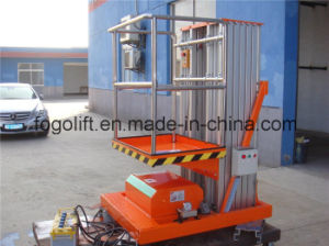 China Manufacturer 200kg Vertical Hydraulic Platform Lift pictures & photos