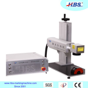 Portable Tabletop Fiber Laser Marking Machine with Raycus Laser Source for Metal Marking pictures & photos