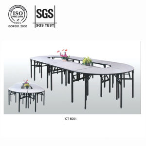 Strong Steel Plywood Folding Meeting Table (CT-5001) pictures & photos