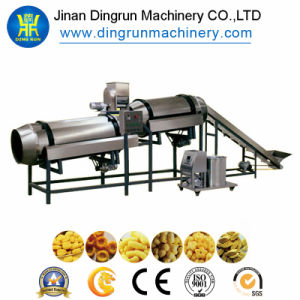 Puffs Snacks Food Making Machinery for Cheese Corn Chips Production Line pictures & photos