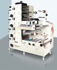Rtry-520d 4 Color Rotary Price Label Paper Printing Machinery pictures & photos
