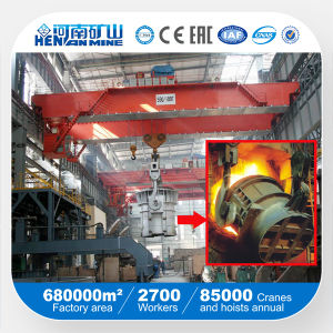 5~74t Qdy Model Ladle Crane, Overhead Foundry Crane pictures & photos