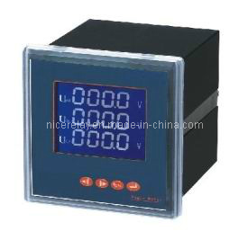 LCD Multifunction Power Meter for Energy Meter (NRM08E-3SY) pictures & photos