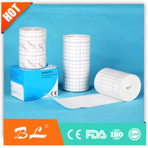 Non Woven Fix Roll 10cmx10m Non Woven Wound Dressing Fix Roll pictures & photos