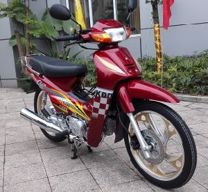 China Cub Motorcycle with Good Quality Cheap Price Wave 110cc, 120cc, 125cc pictures & photos