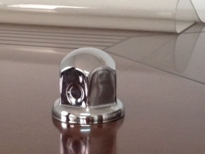 Stainless Steel/Chrome Nut Cover (CW1101-41H)