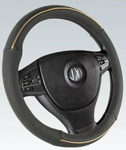 PVC with PU Steering Wheel Cover (BT7242A) pictures & photos