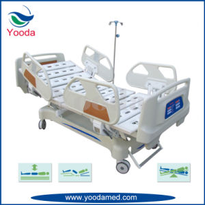Long Side Rails Hospital Bed with Five Function pictures & photos