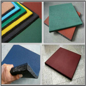Rubber Tile/Piece/Roll/Interlocking Gym/Fitness Floor/Flooring pictures & photos