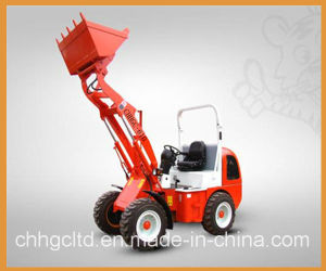 1000kg Hydraulic Mini Wheel Loader with CE pictures & photos