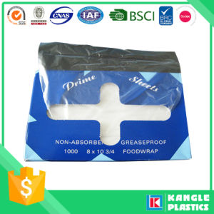 HDPE Virgin Food Service Interleaved Deli Sheet pictures & photos