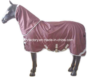 Waterproof Breathable Ripstop Horse Rain Sheet (SMR1589G) pictures & photos