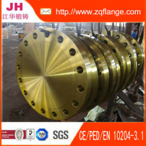 A105 of Yellow Paint Flange BS4504 pictures & photos