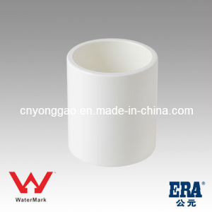 Best Quality Plastic UPVC Pipe Fitting Manufacture AS/NZS 1477 Coupling pictures & photos