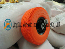 Flat-Free PU Wheel with Puncture Proof Tyre (4.10/3.50-4) pictures & photos