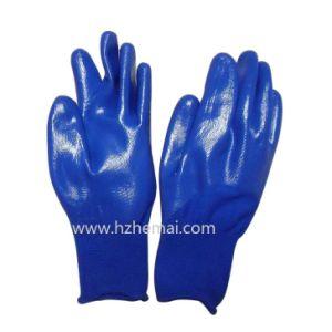 Half Coated Nitrile Gloves Children Garden Gloves Work Glove pictures & photos