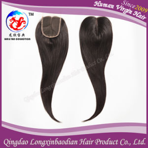 High Quality Virgin Remy Human Hair Lace Closure Top Closure (CBWB-A713)