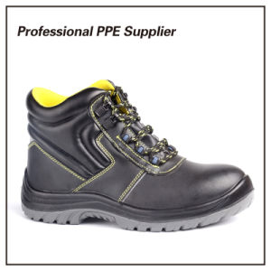 Smooth Action Leather Waterproof Industrial Safety Boot pictures & photos