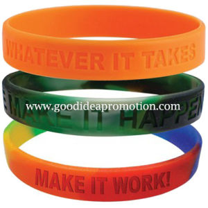 Expert Manufacturer of Silicone Bracelet pictures & photos