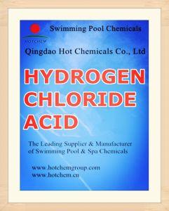 HCl 31%-34% Hydrogen Chloride Acid Einecs 231-595-7 pictures & photos
