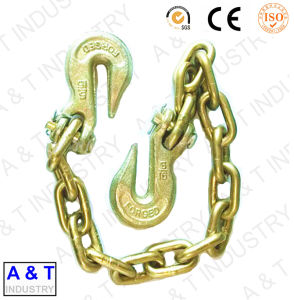 Us Type Transport Tow Chain with Hook pictures & photos