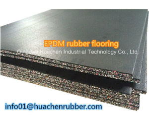 More Cheaper Thick Antislip Rubber Floor Tile pictures & photos