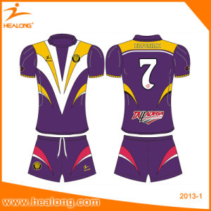 2017 Rugby Unifroms Wholesale Customization Shirt Rugby Jersey Clothing pictures & photos