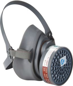 Single Filter Gas Mask (9300)