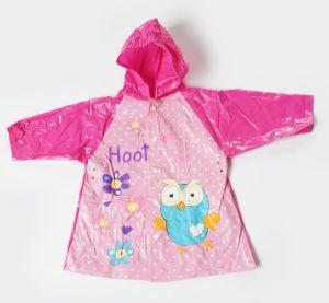 PVC Children Raincoat (SM-W1008) pictures & photos