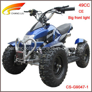 49CC Quad ATV, Gasoline ATV with Front Big Light, 6 Inch Tyres, Kids/Mini ATV, CS-G9047-1