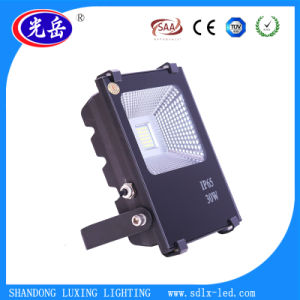 Aluminum+Tempered Glass IP65 30W LED Floodlight/LED Flood Light with Good Heat Dissipation pictures & photos
