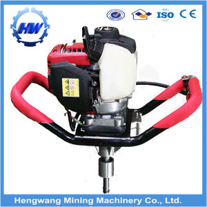 Petrol Backpack Earth Drilling Machine pictures & photos