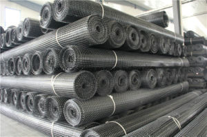 PVC Coated Polyester Geogrid for Civil Engineering Reinforcement pictures & photos