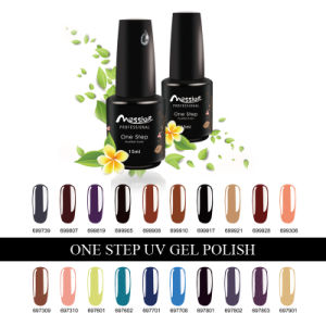 One Step UV Gel Polish Professional Nail Art 15ml 194 Kinds Colours Soak off UV Gel Colour pictures & photos