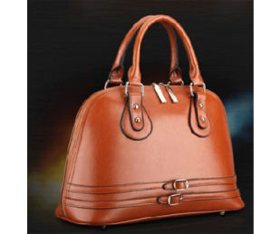 Supply Casual PU Leather Women Handbag (B0424) pictures & photos